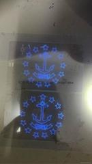USA RI State ID overlay with UV light