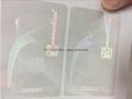 USA CT State ID overlay hologram