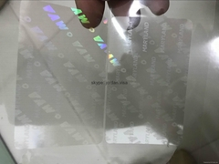 MD DL overlay hologram