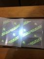 FL overlay hologram with UV Light