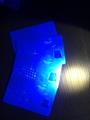 NY Cards With UV Light