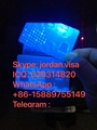 USA New York  Card with UV Light & window