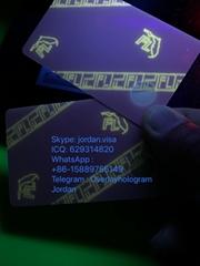 USA New Florida ID card with UV light
