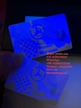USA WI ID blank card with UV