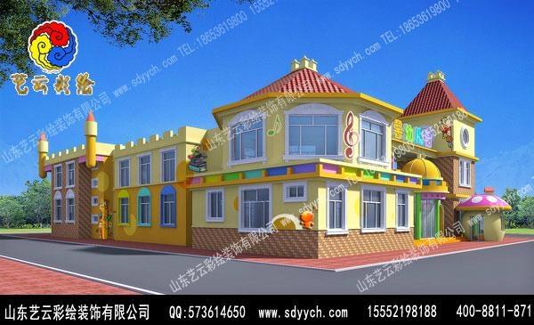 河南郑州幼儿园彩绘