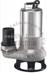 线路板厂废水/电镀废水专用无堵塞排污泵