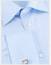 立軒純棉法式袖襯衫