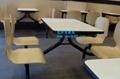 快餐桌椅廠家直銷質量免費保修2年 飯店快餐桌椅批發 1