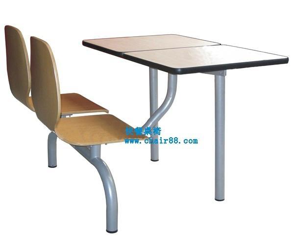 快餐桌椅廠家直銷質量免費保修2年 飯店快餐桌椅批發 2