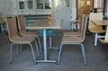 快餐桌椅廠家直銷質量免費保修2年 飯店快餐桌椅批發 4