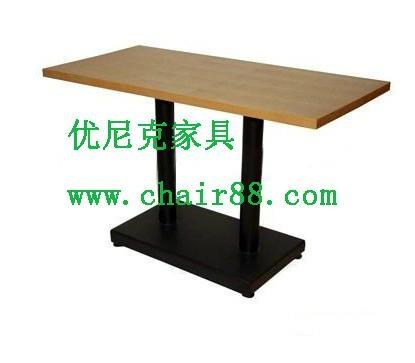 小餐廳快餐桌椅價格,飯館快餐桌椅供應商,低價快餐桌椅 2