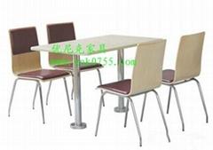 时尚快餐桌椅定制首选厂家,质量有保证的快餐桌椅