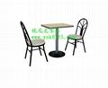 廣東省快餐桌椅  廠家,高檔快餐桌椅供應商質優價廉 4
