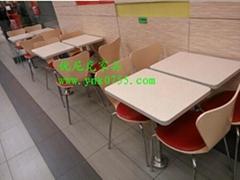麦当劳快餐桌椅价格,贴心服务的快餐桌椅定制批发一条龙服务