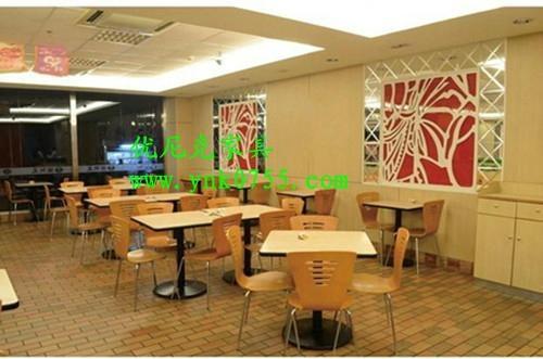 肯德基快餐桌椅  廠家,高端大氣的快餐桌椅供應商 1