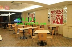 肯德基快餐桌椅  厂家,高端大气的快餐桌椅供应商