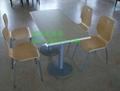 肯德基快餐桌椅  廠家,高端大氣的快餐桌椅供應商 5