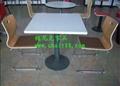 歐式風餐廳桌椅-茶餐廳桌椅-快