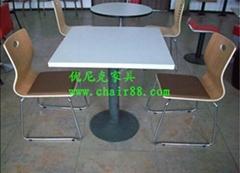 歐式風餐廳桌椅-茶餐廳桌椅-快餐桌椅大全