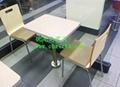 歐式風餐廳桌椅-茶餐廳桌椅-快餐桌椅大全 4