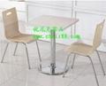 歐式風餐廳桌椅-茶餐廳桌椅-快餐桌椅大全 5