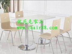 拉麵館快餐桌椅,小吃店快餐桌椅,高檔餐廳桌椅