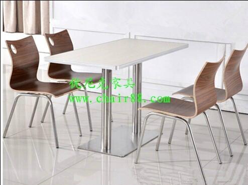 拉麵館快餐桌椅,小吃店快餐桌椅,高檔餐廳桌椅 5