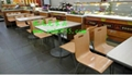 2019廠家直銷中高檔餐廳桌椅