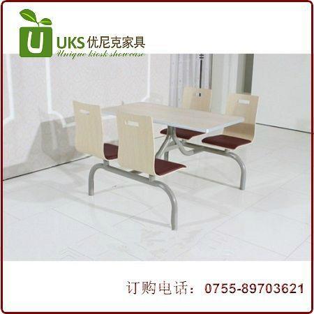 漢堡店快餐桌椅貼心服務的生產廠家,高檔餐飲桌椅供應 3