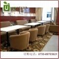 高檔肯德基快餐桌椅  廠家質量有保証餐廳桌椅 3