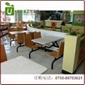 價格便宜的中小型餐廳桌椅,快餐桌椅定製工廠 2