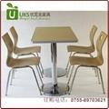 大型餐廳快餐桌椅配套,質優價廉的快餐桌椅  廠家 3