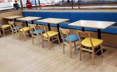 茶餐廳桌椅,湘菜館餐廳桌椅,飯店快餐桌椅定做批發