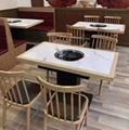 2021大型餐廳桌椅飯店桌椅定