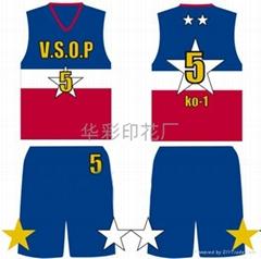 青島即墨專業籃球服個性印花加工價格 熱轉印熱昇華轉移