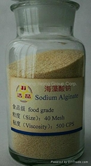 sodium alginate in food