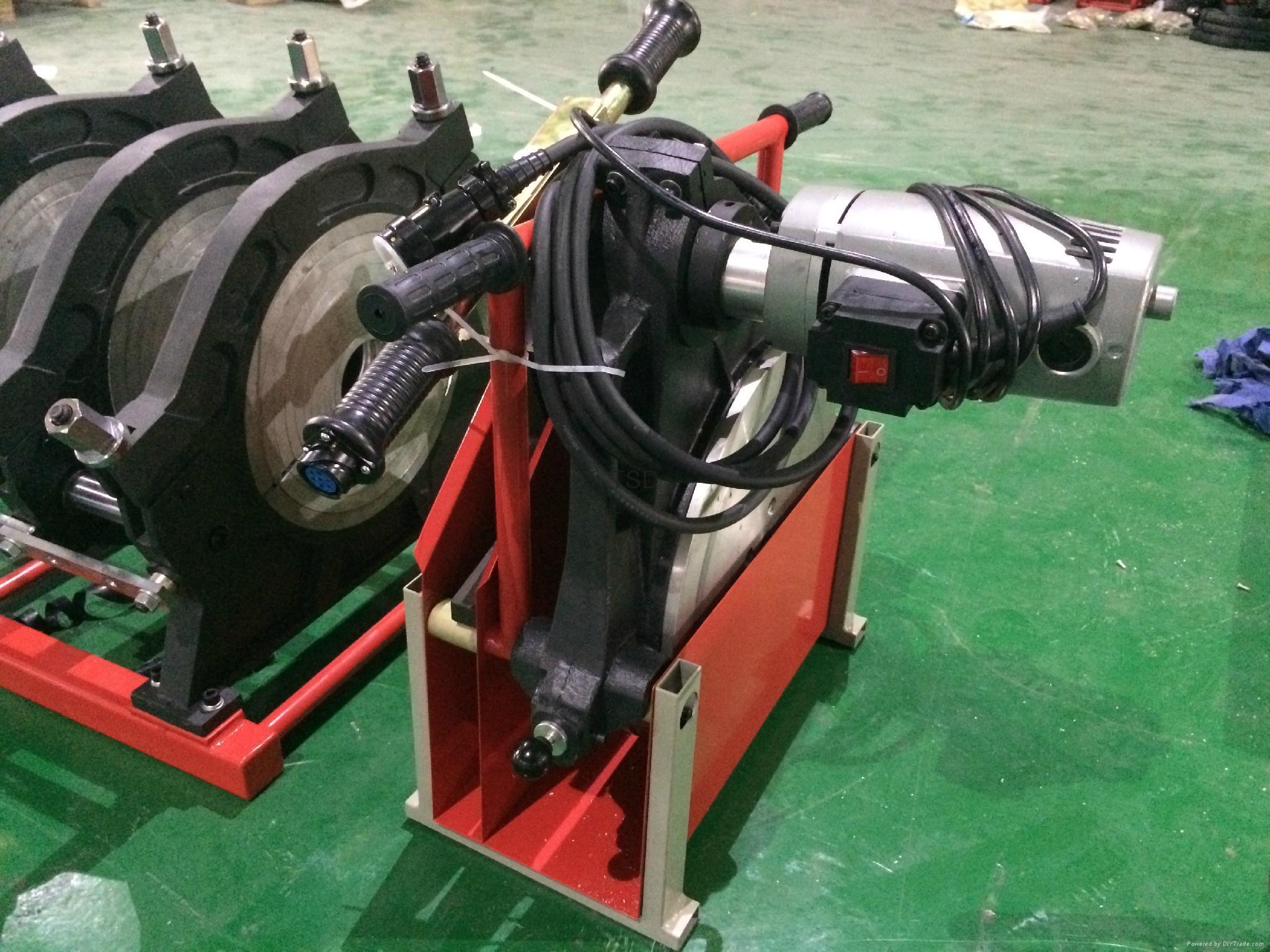 TSD315D hdpe pipe welding machine automatic butt fusion