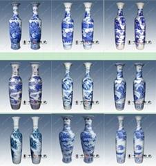 鎮宅落地陶瓷花瓶
