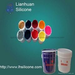 Liquid silicone rubber LSR for textile trademark