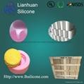 Food grade mould silica gel