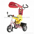 2012 New Fashion Luxury Baby Tricycle