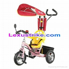 2019 New Fashion Luxury Baby Tricycle