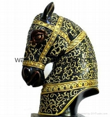Horse Resin Craft Decoration Animal Gift