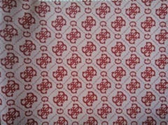PVC printing leather