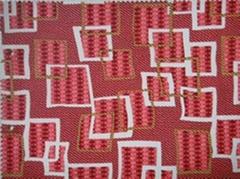 印花手袋革