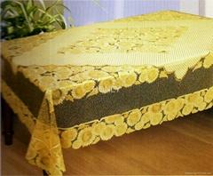 GOLDEN PVC TABLECLOTH