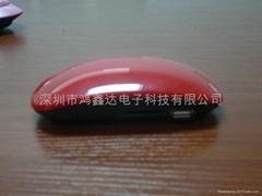 鼠標造型插卡音響