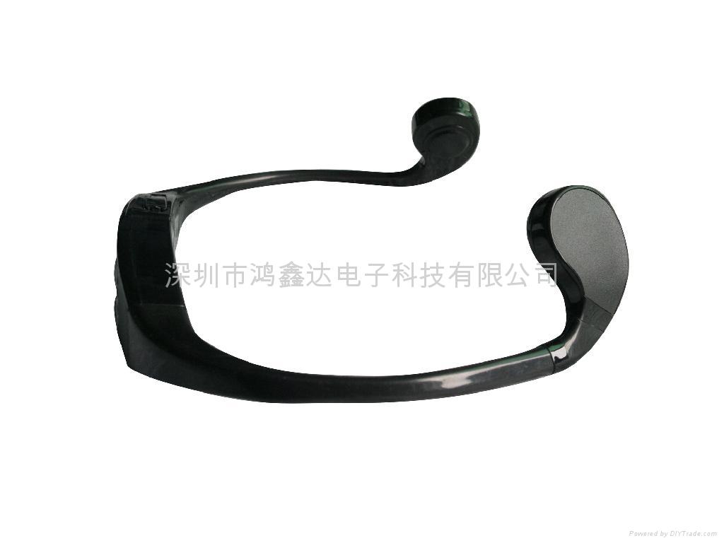 防水游泳MP3头戴式户外跑步播放器无线耳机 3