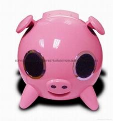 水晶猪音箱