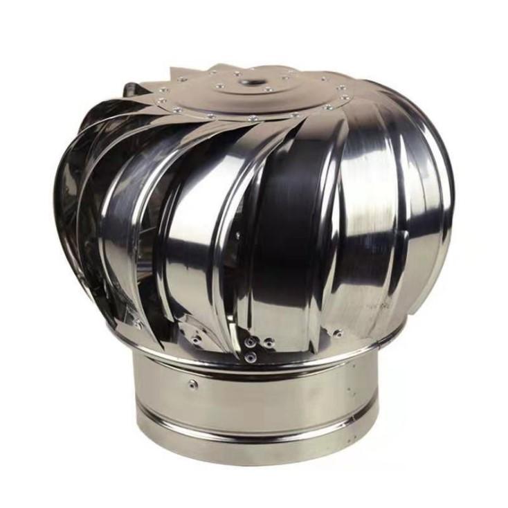 304 Stainless steel unpowered fan energy saving Roff ventilator fan for poultry  1